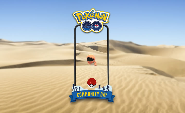 Trapinch será el protagonista del Día de la Comunidad de Pokémon GO de octubre