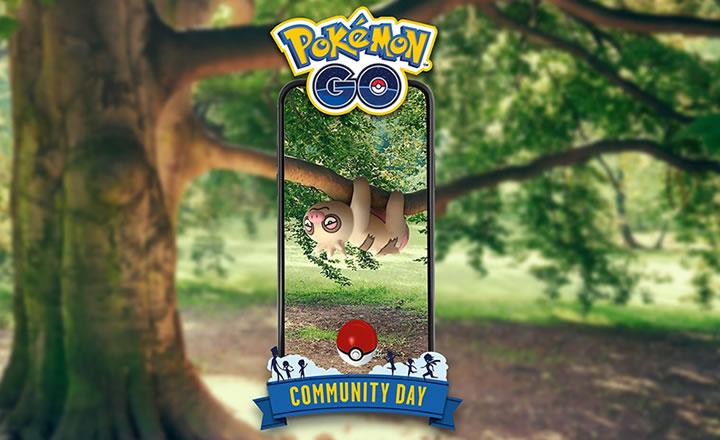 Slakoth será el protagonista del Día de la Comunidad de Pokémon GO de junio