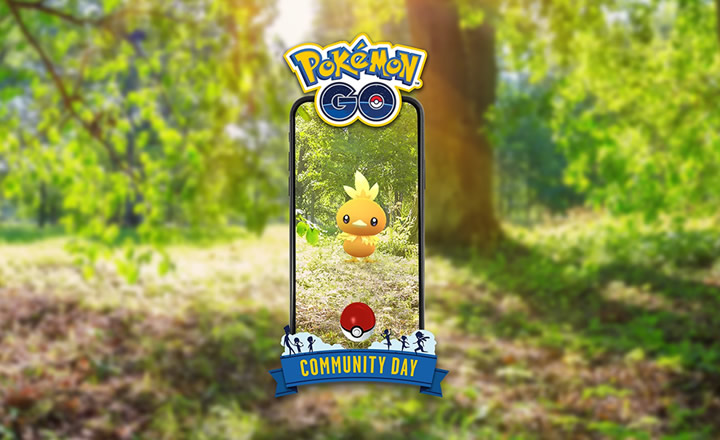 Torchic será el protagonista del Día de la Comunidad de Pokémon GO de Mayo