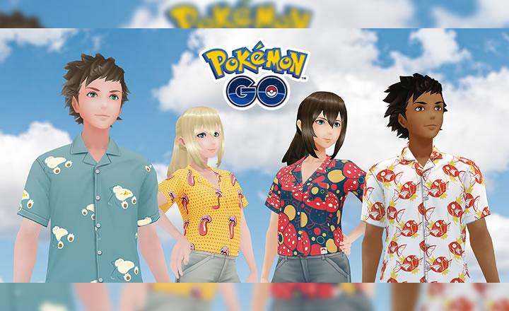 Las camisas Pokémon Shirts llegaron a Pokémon GO