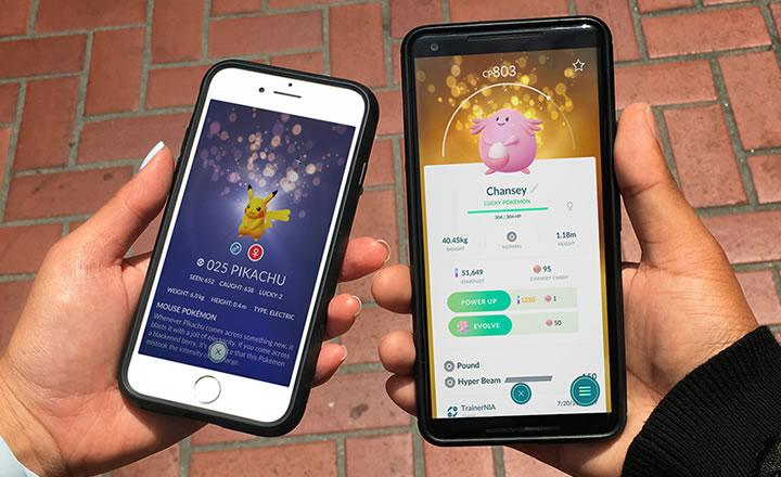 Nuevos beneficios para los Pokémon con suerte en Pokémon GO