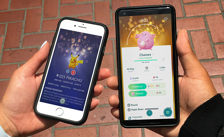 Los Pokémon con suerte  llegan a Pokémon GO