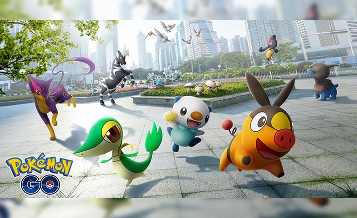 Los Pokémon de Teselia ya disponibles en Pokémon GO