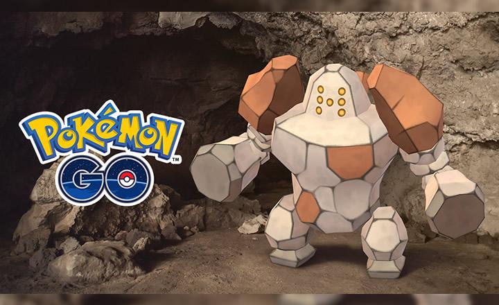 Regirock llega a las batallas de Incursión de Pokémon GO