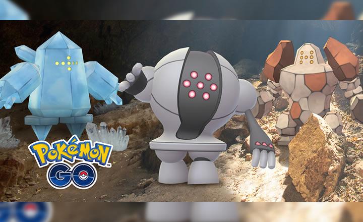 Los Regis llegan a las batallas de Incursión de Pokémon GO, comenzando con Regice