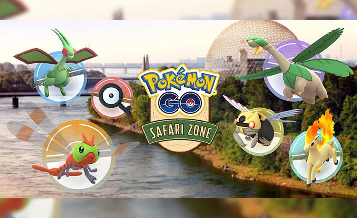 Montreal recibirá la Zona Safari de Pokémon GO en septiembre