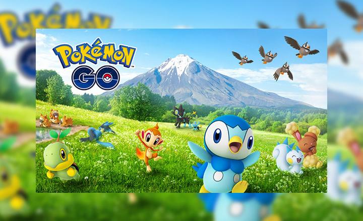 Sinnoh es la región destacada en el nuevo evento de Pokémon GO