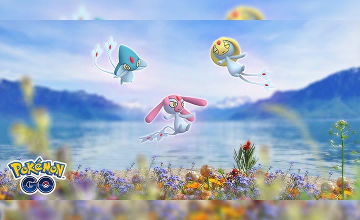 Uxie, Mesprit y Azelf regresaron a las incursiones de Pokémon GO