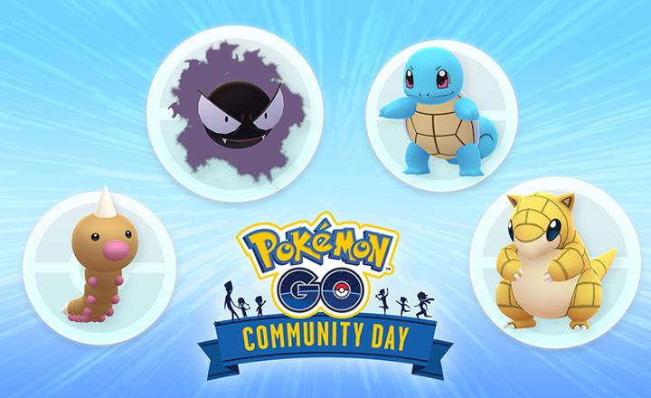 Elige entre cuatro Pokémon a los protagonistas del Día de la Comunidad de junio y julio