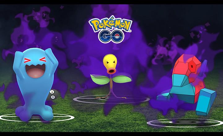 Nuevos Pokémon oscuros llegaron a Pokémon GO