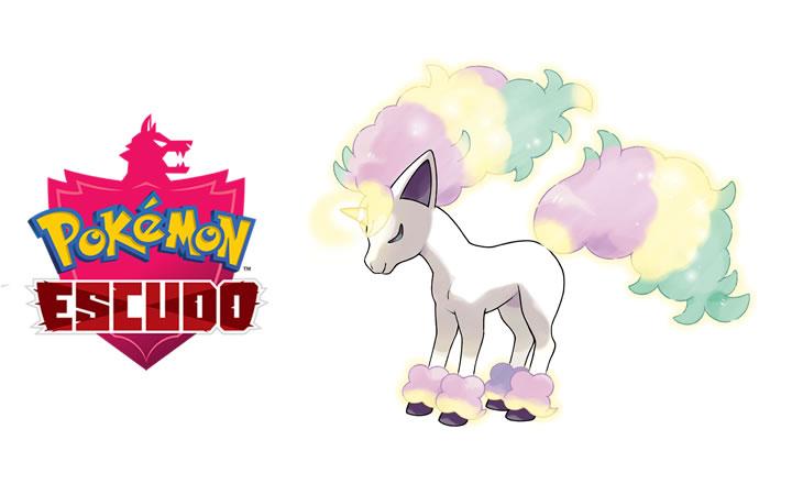 Presentada la forma de Galar de Ponyta para Pokémon Escudo