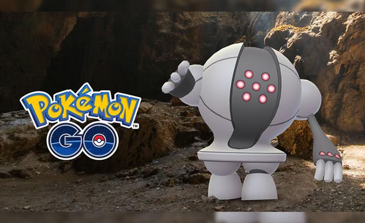 El legendario Registeel llegó a las Incursiones de Pokémon GO
