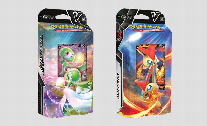 Presentados los nuevos mazos Combate V del Juego de Cartas Pokémon