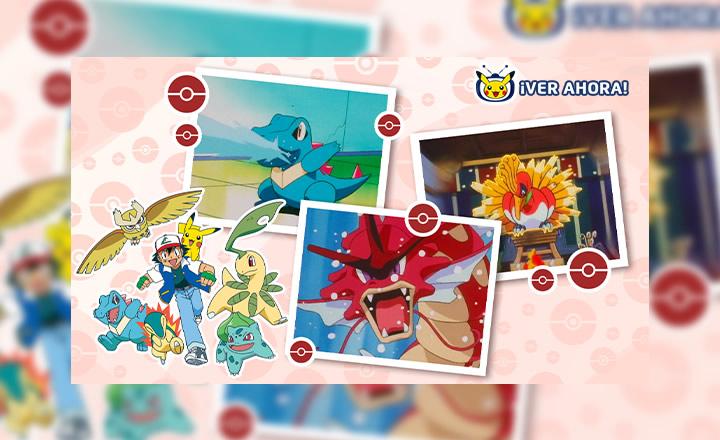 La región de Johto llegó a TV Pokémon