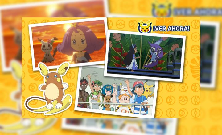 Un especial de Alola llegó a TV Pokémon