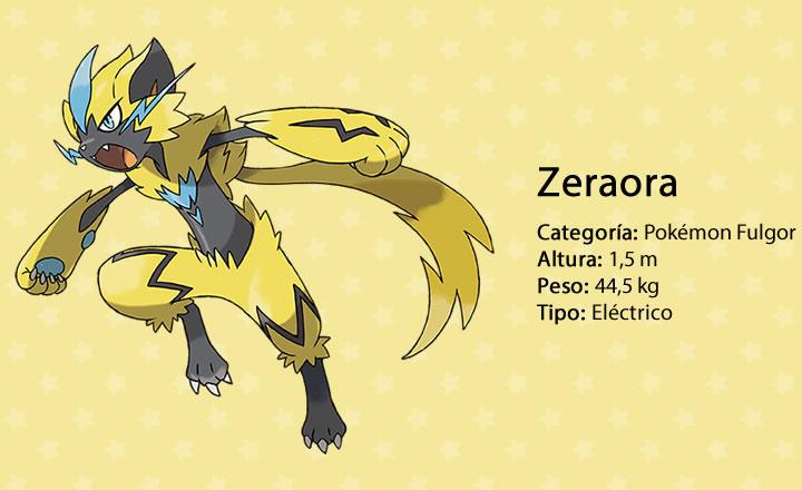 El sitio oficial presenta al Pokémon singular Zeraora