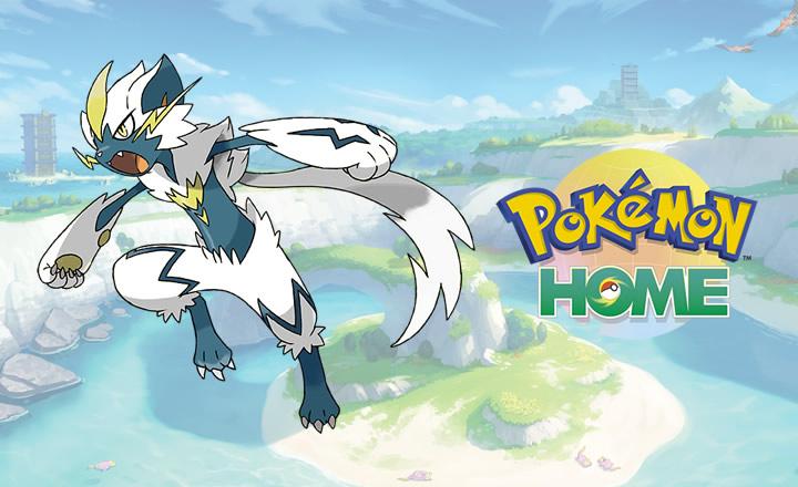 Disponible distribución de Zeraora en Pokémon HOME